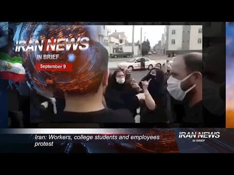 Iran news in brief, September 9, 2020