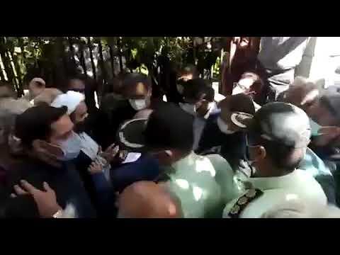 تجمع اعتراضی مالباختگان مجتمع تجاری قائم در تهران