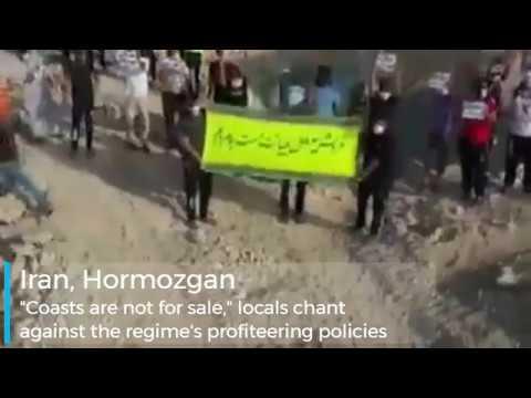 Locals protest against the sale of Qeshm's coast