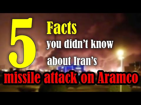 Five facts you did not know about Iran's attack on Saudi Arabia's oil facility