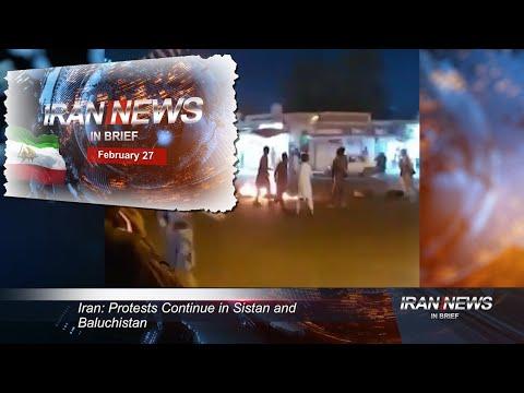 Iran news in brief, February 27, 2021