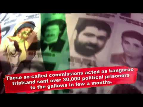 Iran Where Mass Murderers Rule