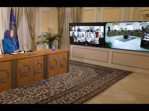 Maryam Rajavi's speech in the session of the National Council of Resistance of Iran