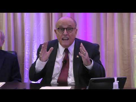 Rudy Giuliani addresses allegations of MEK being a cult
