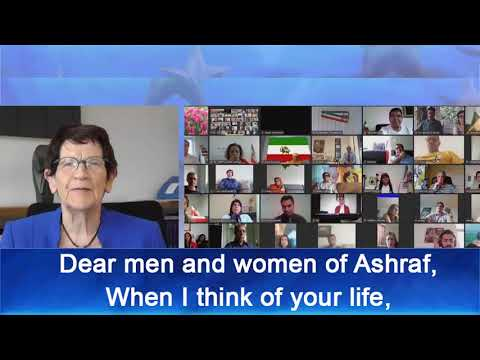 Message of Prof. Dr. Rita Süssmuth to the International Conference at Ashraf 3