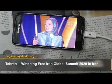 Iranian opposition MEK network follows Free Iran Global Summit 2020 in Iran supporting Maryam Rajavi