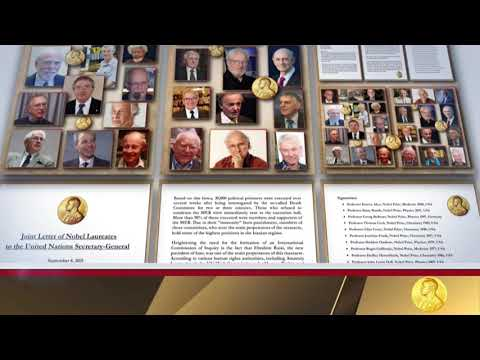 Letter of Nobel Laureates to the United Nations Secretary General