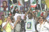 PROTEST AGAINST IRAN'S 'SHAM' ELECTION