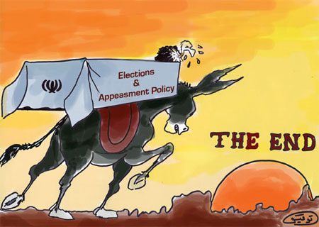Caricature- Elections & Appeasment Policy