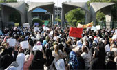 Thousands of Tehran residents join women's anti-government demonstration