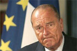 Iran-France: Chirac Says Iran Must Suspend Nuclear Plans or Face UN Referral