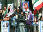 Iran-Iraq: Downing Street rally in defense of abducted PMOI members in Iraq