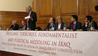 Iran meddling in Iraqi constitution draft to have dissidents expelled