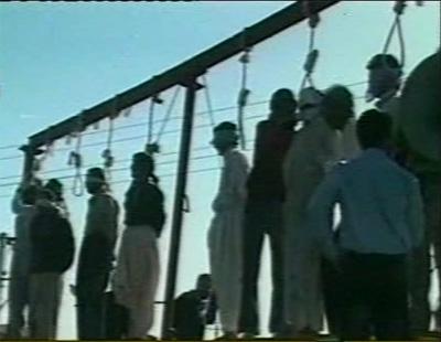 Iran: 10 hangings, death sentences in one week