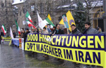 Bonn rally called for UN sanctions on Iran regime