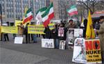 Düsseldorf rally supports bus drivers' strike in Tehran