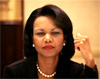 Rice says time for talking with Iran is over