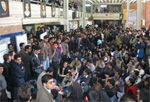 Iran student stage protest in Tehran