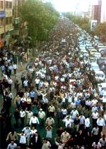 Iran: Major protest rally in Tabriz