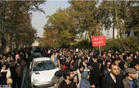 Despite severe suppressive measures students marked Iran Students Day