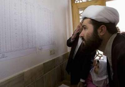 Iran: Mullahs; regime admits election boycott and sluggish turnout at the polls (Tehran, 5:00 p.m.)