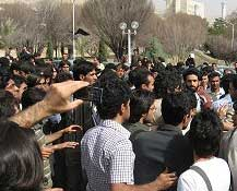 Student protests in Shiraz University entered second week