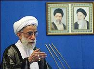 """Iran: """"Protests almost toppled regime,"""" mullah Jannati says"""