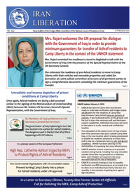 Mrs. Rajavi welcomes the UN proposal for dialogue with the Government of Iraq in order to provide minimum guarantees