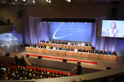 Women's Day international conference praised Maryam Rajavi for unique leadership of equality movement