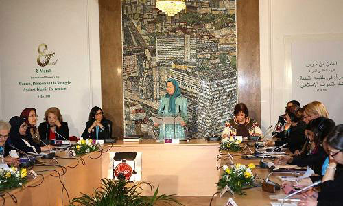 Maryam Rajavi  :Saving the region from the evil of Islamic fundamentalism is women's mission
