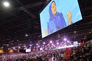Iran Freedom rally in pictures: Maryam Rajavi, NCRI President-elect