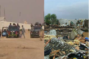 CAMP LIBERTY: For 8 consecutive days Iraqi forces bar entry of food, fuel and medicine
