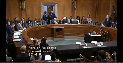U.S. Senate Foreign Relations Committee pass resolution on rights of PMOI members in Camp Liberty