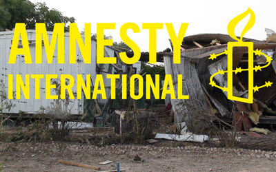 Amnesty International calls for prompt, independent investigation into Camp Liberty rocket attack
