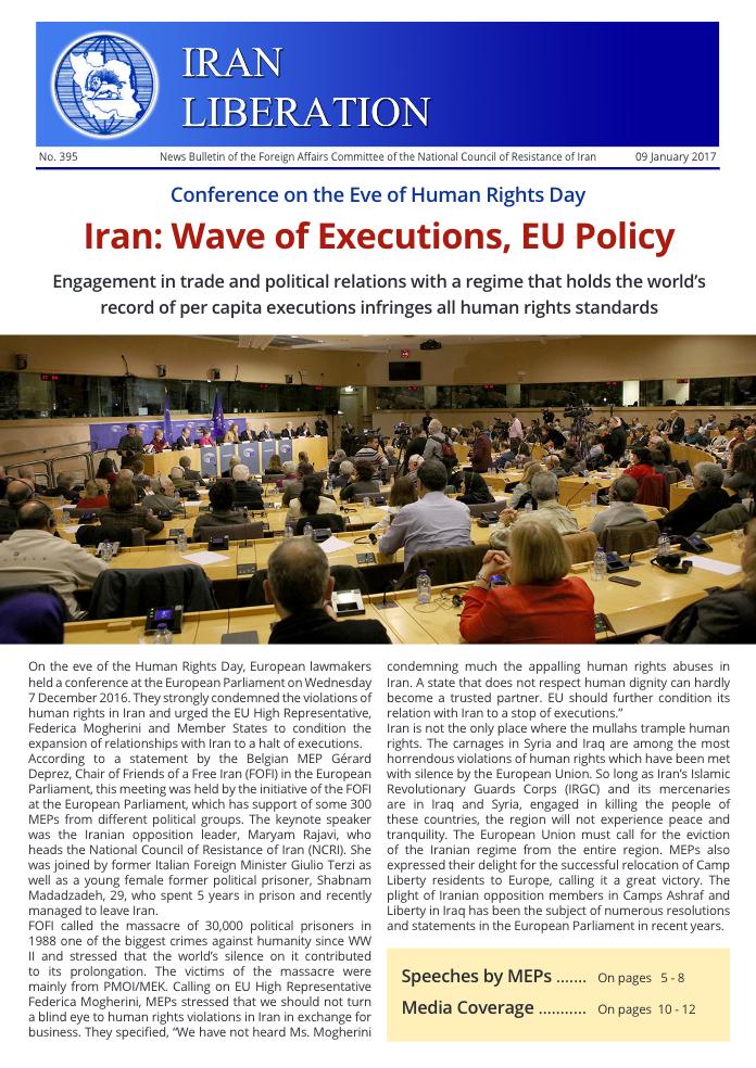 Iran Liberation No. 395