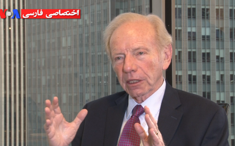 Joseph Lieberman: There Is No Election in Iran, the Regime Decides for Iranians