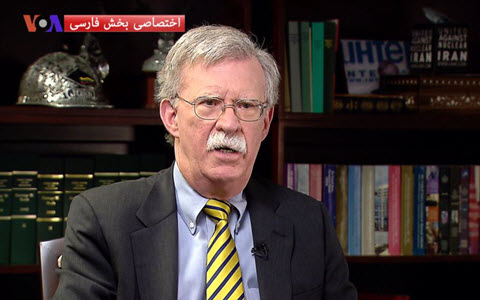 John Bolton: If Free Elections Were Held in Iran, Ayatollahs Would Be the Losers
