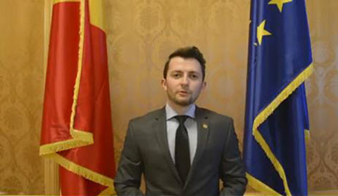 The Solidarity Message of Vlad Duroch, the Romanian Parliament Representative for the Grand Gathering of the Iranian Resistance in Villepinte, Paris