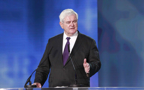 "Newt Gingrich at Free Iran Rally: ""You Will Someday Be Proud to Say You Were a Part of What Freed Iran"""