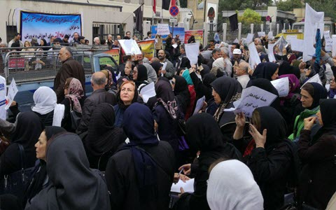 Teachers Rallied on International Teacher's Day in Different Cities of Iran