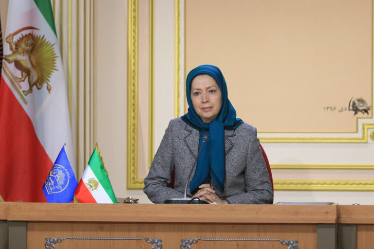 Maryam Rajavi: Eradicating the Clerical Regime's Nuclear and Terrorism Threats Means Getting Rid of the Regime in Its Entirety