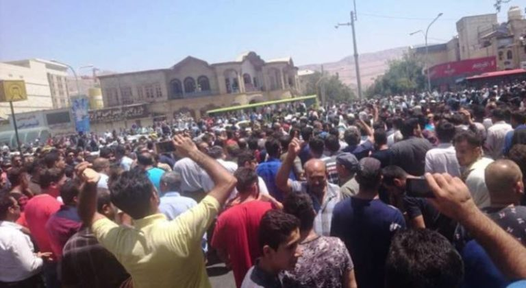 Iran Regime Blames the PMOI (MEK) for the Ongoing Protests