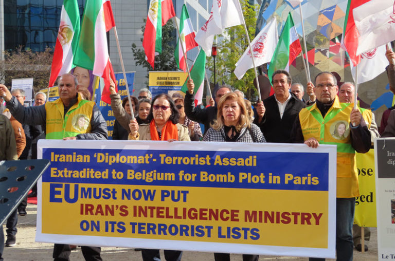 Anti-Iran Regime Protests in Brussels and London