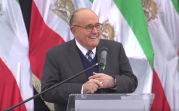 Rudy Giuliani Urges Warsaw Summit Leaders Firmness on Iran