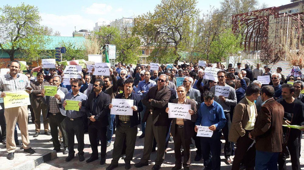 Iran Regime's Minister of Education: Enemy Is Very Close