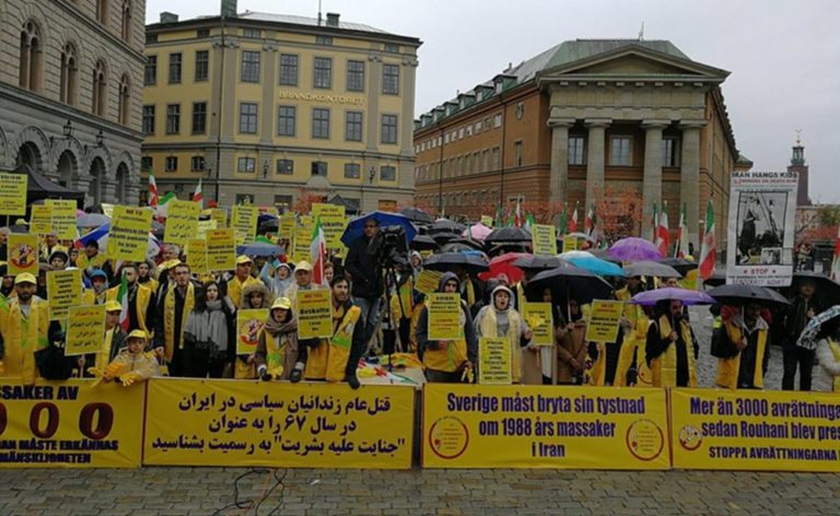 Over 5000 Iranians to Cry for Freedom in Stockholm