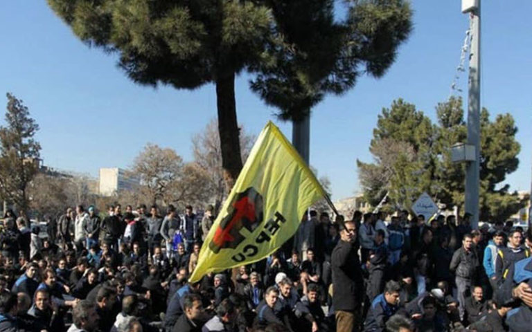 Iranian Construction Workers Hold Protest Over Overdue Wages, Poor Working Conditions