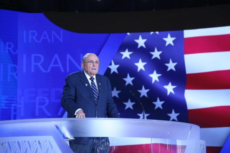 Feature: Rudy Giuliani Stands With the MEK in Support of a Free Iran