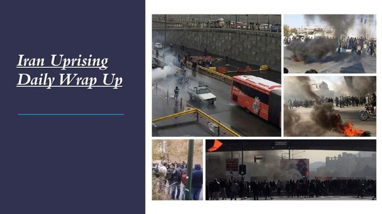 Iran Uprising Daily Wrap Up – November 22