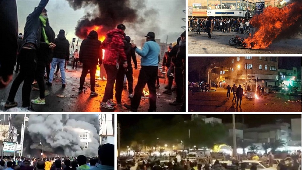 Live Report: Day 8 of Iran Protests – via the MEK's Network